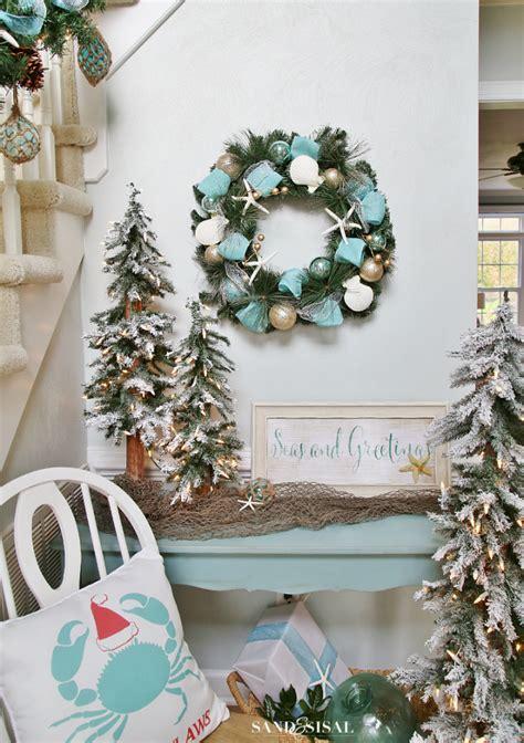 top 40 christmas coastal theme decoration ideas