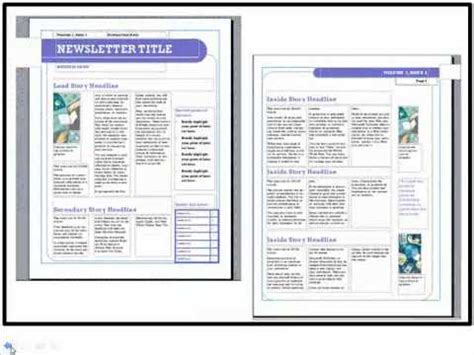 publisher program templates 7 how to use ms publisher to create a church newsletter