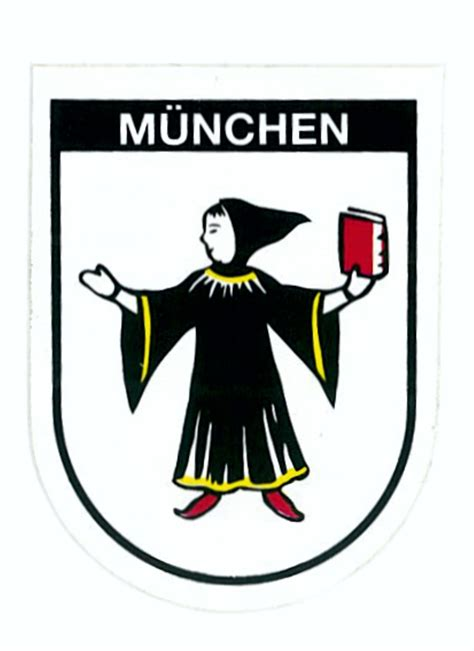 Wappen Aufkleber by Aufkleber Wappen M 252 Nchen 60 X 45 Mm Schneller