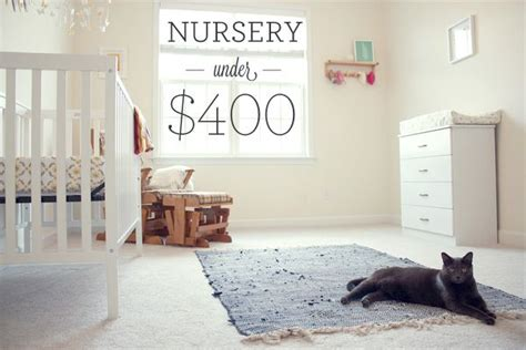 Decorating Nursery On A Budget The Cost Of Our Baby Nursery Room Our Freaking Budget