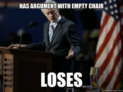 clint eastwood chair meme empty chair memes image memes at relatably