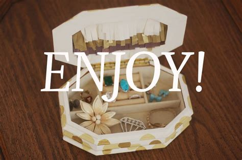 how do you make a jewelry box how to make jewelry boxes out of cardboard