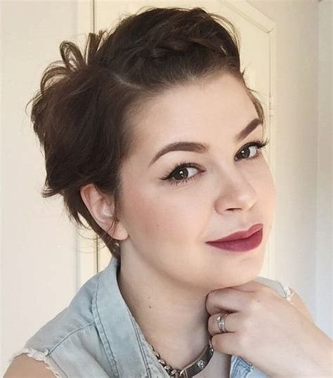messy hairstyles for fatter faces 50 cute looks with short hairstyles for round faces