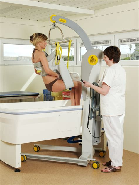 bathtub for disabled person bathing sling handi move