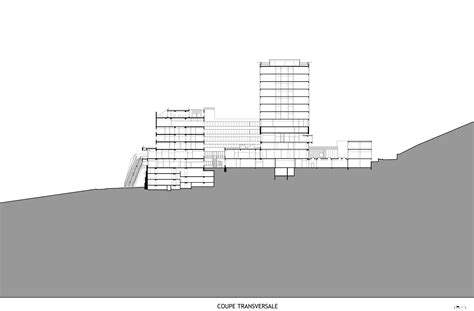 Hospital Sections by Gallery Of Villeneuve Georges Hospital Atelier D