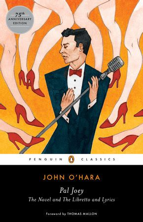 o hara lyrics pal joey by o hara penguinrandomhouse