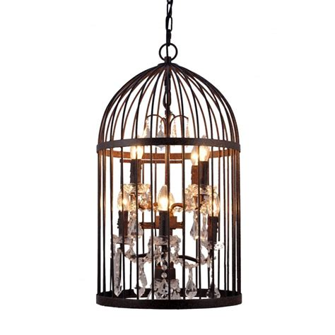 Birdcage Ceiling Light Dark Bronze Bird Cage Lantern Ceiling Lights By Libra