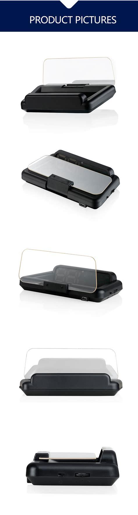 digital smart hud head  display car speed projector xty  autocardiag
