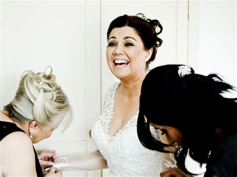 Informal Wedding Photography by Wedding Photography At Nusmere Cheshire