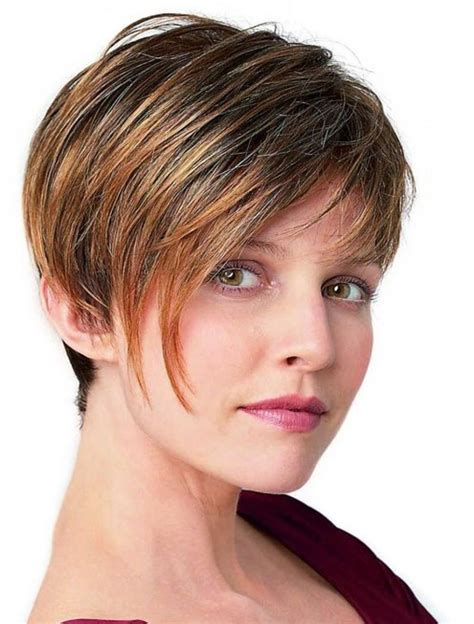 short haircuts for balding women short hairstyles thick hair hair loss