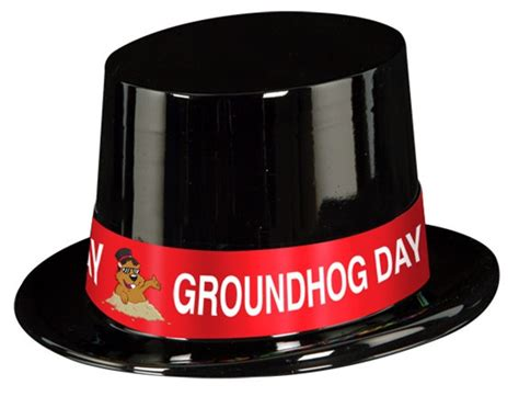 groundhog day hat groundhog day top hat partycheap