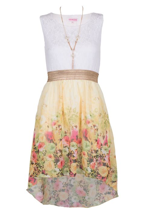 Kid Dress Lace summer sleeveless lace tops floral high