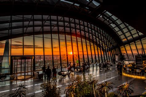 Roof Garden Restaurant City Of London