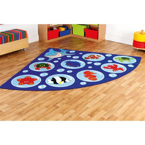Under The Sea Furniture by Under The Sea Corner Carpet From Early Years Resources Uk