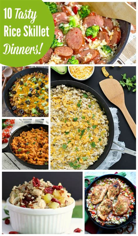 quick and easy rice skillet dinner recipes the weary chef