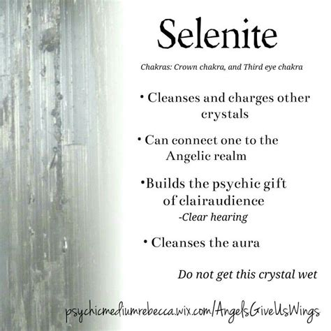 Selenite L Healing Properties by 1000 Ideas About Collection Meaning On