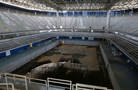 olympic venues rio olympic venues are abandoned just 6 months after the