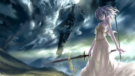 wallpaper anime original land of the eternity full hd wallpaper and background