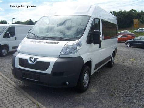 peugeot 2 seater car peugeot boxer l2h2 standard 9 seater bus 2011 estate