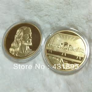 home design free coins hot sell the last supper jesus gold plated round coin da vinci opus design coin 50pcs lot free