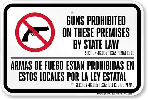 penal code section 17 texas 30 06 and 30 07 concealed and open carry signs