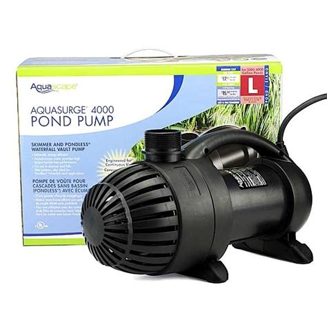 Aquascapes Pumps by Pond Supplies Pond Liner Water Garden Supplies