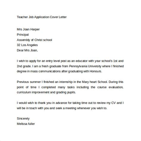 covering letter when applying for a tips for writing a cover letter for a application