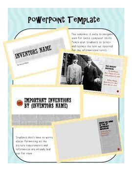 inventor biography graphic organizer inventor biography graphic by onestopstemshop