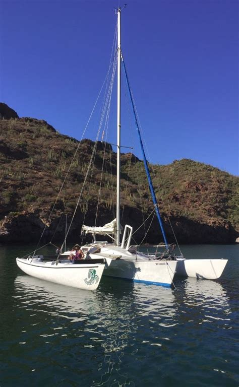 trimaran seafood condor 30 cruising trimaran for sale outrig media