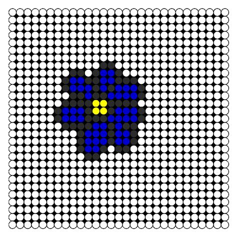 perler bead flower patterns flower perler bead pattern images