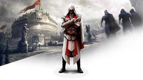 Ezio in Assassin's Creed Brotherhood Wallpapers | HD