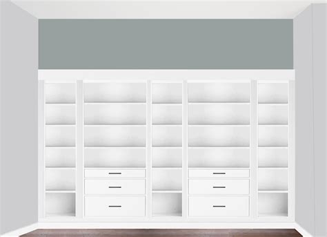 Bookcase With Bottom Cabinets Diy Built In Bookcase Reveal An Ikea Hack Studio 36