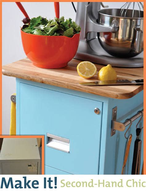 diy kitchen cart make it secondhand chic filing cabinet kitchen cart diy