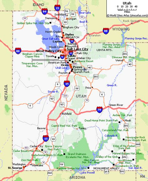 printable map utah layton utah road map bing images