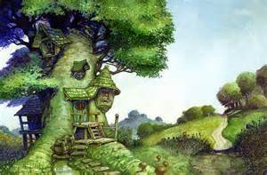 treehouse house beautiful tree house fantasy fairy tale images pictures hd