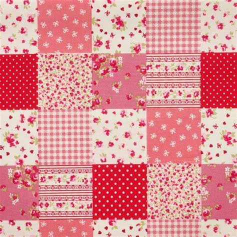 Patchwork Pattern Fabric - patchwork fabric