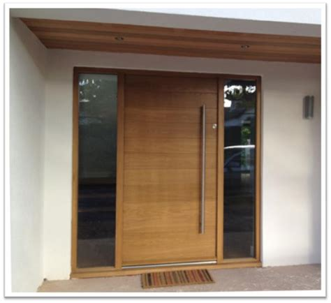 Contemporary Wooden Front Doors Bespoke Doors And Windows By Jonathan Elwell Bespoke Joinery