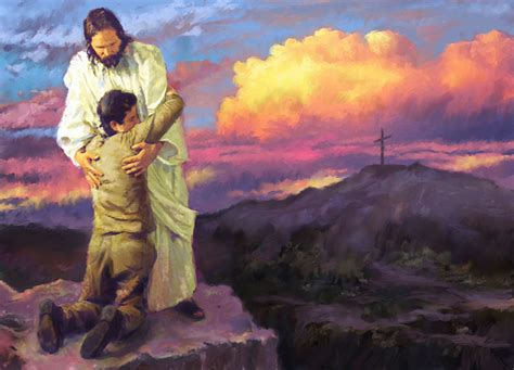 Jesus Comforts The Brokenhearted by Pictures Of Jesus Images Showing The Of