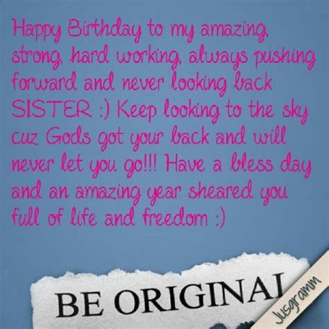 Happy Birthday Sis Quotes Happy Birthday Sister L Pinterest Beautiful