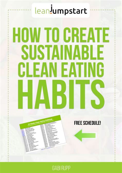 clean habits clean eating challenge 52 powerful healthy habit changes