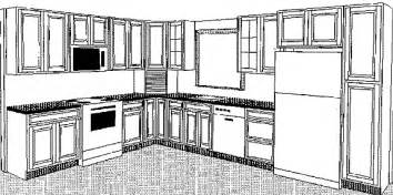 Kitchen Drawings by Small Kitchen Cabinets 3d Drawing Home Design And Decor