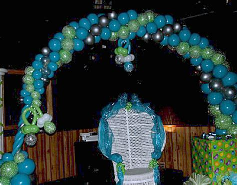 Balloon Arch Baby Shower by Baby Shower Decoration In Miami Fort Lauderdale Wicker