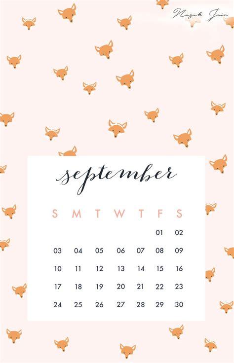 Calendar September 2017 Wallpaper September Free Calendar Printables 2017 By Nazuk Jain