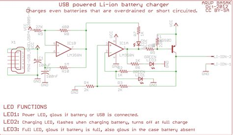 Power Lifier Usb the usb car charger circuit schematic of get free image