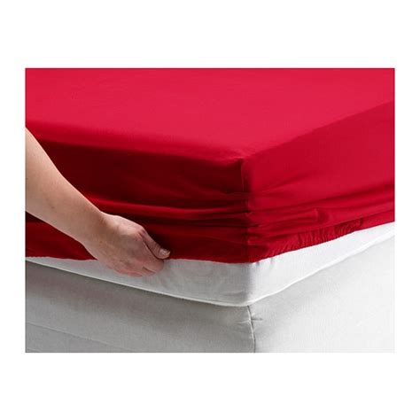 Ordinaire Drap Housse King Size #1: dvala-fitted-sheet-red__0256608_PE401188_S4.JPG