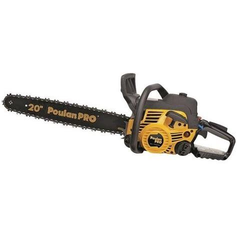 Shop Poulan Pro Pr5020 Medium Duty Chain Saw 50 Cc 20