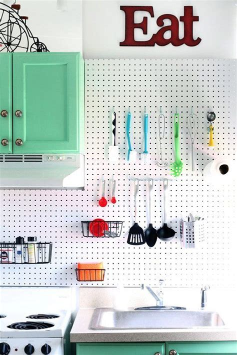 Pegboard Ideas Kitchen 20 Functional Pegboard Concepts To Organize Your Room Decorazilla Design