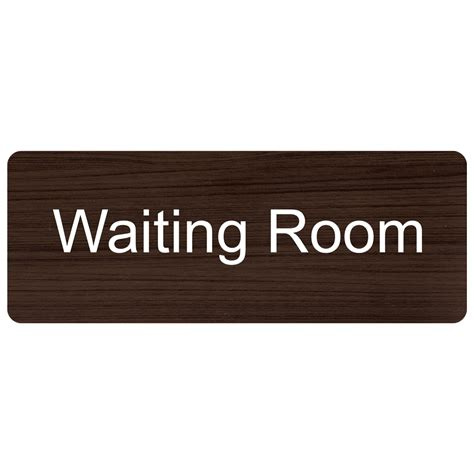 room name signs waiting room engraved sign egre 640 whtonkna wayfinding room name