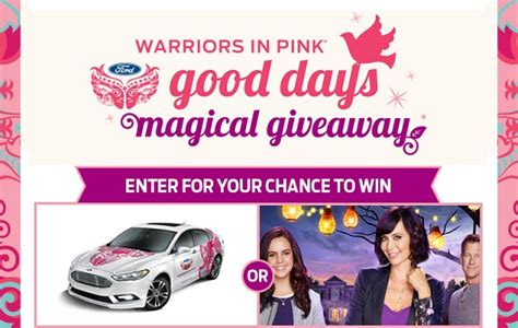 Hallmark Channel Com Giveaway - hallmarkchannel com good days magical giveaway sweepstakesbible