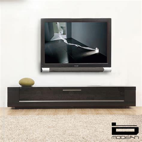 b modern editor remix matte black amp tv stands